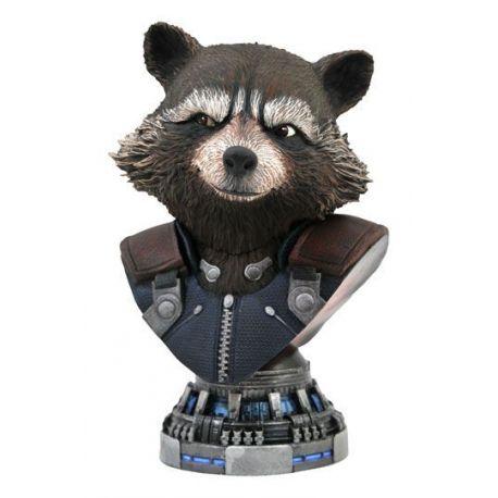 Avengers Endgame Legends in 3D buste 1/2 Rocket Raccoon Diamond Select