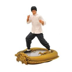 Bruce Lee Premier Collection statuette 80th Birthday Diamond Select