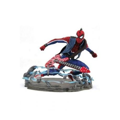 Spider-Man 2018 Marvel Video Game Gallery statuette Spider-Punk Exclusive Diamond Select