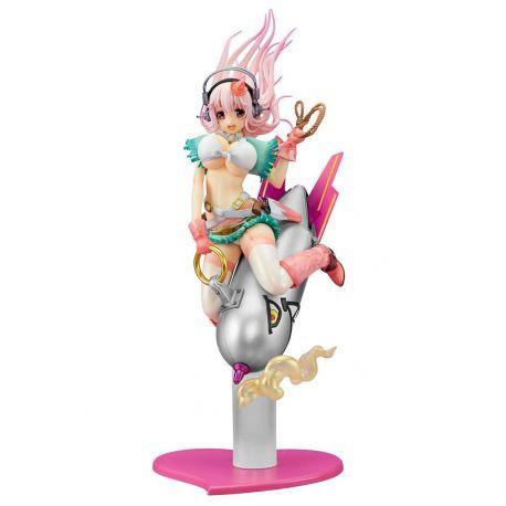 Super Sonico figurine 1/7 Super Sonico Love Bomber Ques Q