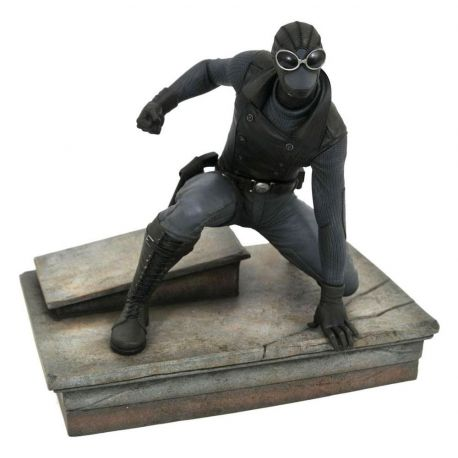 Spider-Man 2018 Marvel Video Game Gallery statuette Spider-Man Noir Exclusive Diamond Select