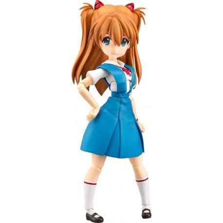 Rebuild of Evangelion figurine Parfom R! Asuka Shikinami Langley School Uniform Ver. Phat!