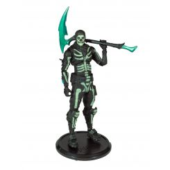 Fortnite figurine Green Glow Skull Trooper (Glow-in-the-Dark) Walgreens Exclusive McFarlane Toys