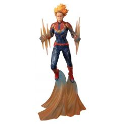Marvel Comic Gallery statuette Binary Captain Marvel Diamond Select
