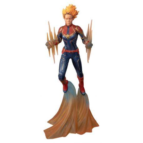 Marvel Comic Gallery statuette Binary Captain Marvel Diamond Select