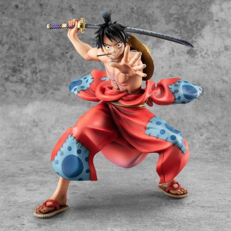 One Piece figurine P.O.P. Warriors Alliance Luffy Taro Megahouse