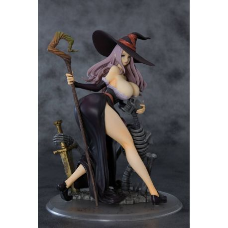 Dragon's Crown statuette 1/7 Sorceress Darkness Crow Ver. Orchid Seed
