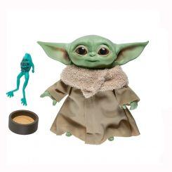 Star Wars The Mandalorian peluche parlante The Child Hasbro