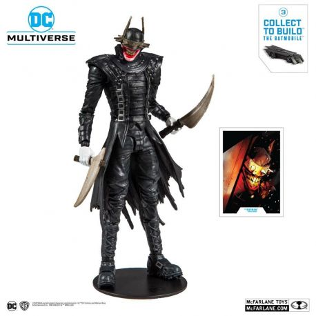 Dark Nights Metal figurine Build A The Batman Who Laughs McFarlane Toys