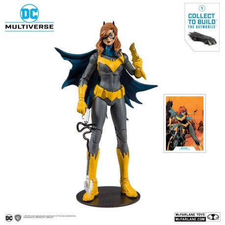 DC Rebirth figurine Build A Batgirl (Art of the Crime) McFarlane Toys