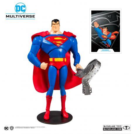 Batman The Animated Series figurine Superman McFarlane Toys