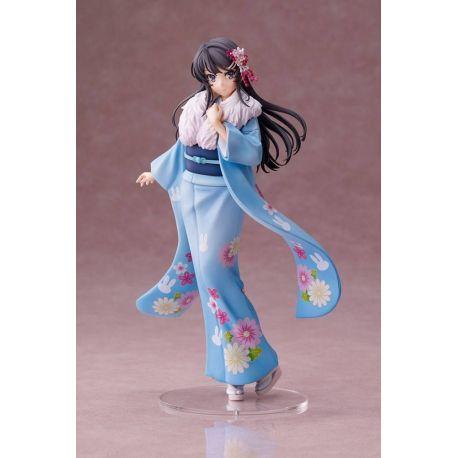 Rascal Does Not Dream of Bunny Girl Senpai figurine 1/7 Mai Sakurajima Kimono Ver. Aniplex