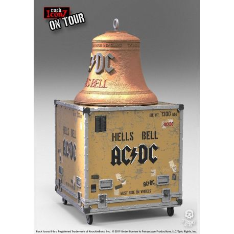 AC/DC statuettes Rock Ikonz On Tour Hell's Bell Knucklebonz