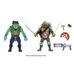 Les Tortues ninja pack 2 figurines Leather Head & Slash Neca