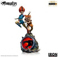 Cosmocats statuette BDS Art Scale 1/10 WilyKit et WilyKat Deluxe Iron Studios