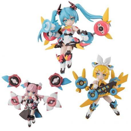 Hatsune Miku assortiment figurines Desktop Army Singer (3) Megahouse