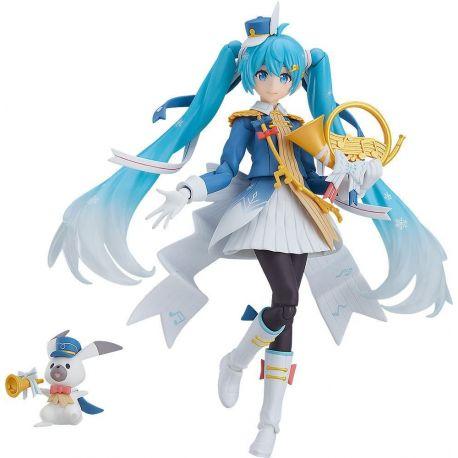 Character Vocal Series 01 Hatsune Miku figurine Figma Snow Miku Snow Parade Ver. Max Factory