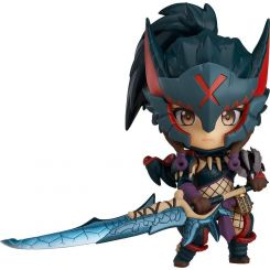Monster Hunter World Iceborne figurine Nendoroid Hunter Female Nargacuga Alpha Armor Ver. Capcom