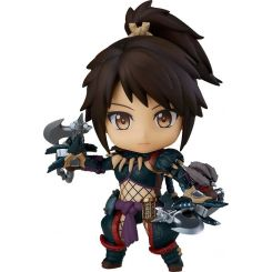 Monster Hunter World Iceborne figurine Nendoroid Hunter: Female Nargacuga Alpha Armor Ver. DX Capcom
