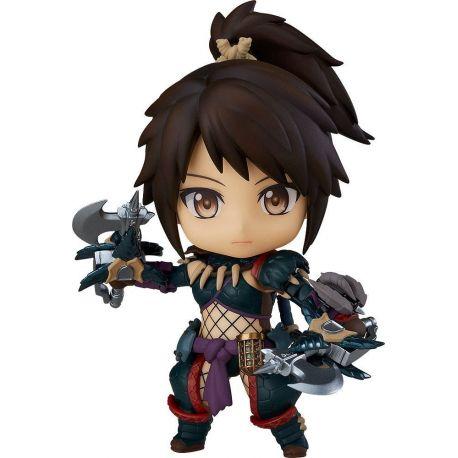Monster Hunter World Iceborne figurine Nendoroid Hunter: Female Nargacuga Alpha Armor Ver. DX Capcom