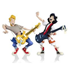 L'Excellente Aventure de Bill et Ted pack 2 figurines Toony Classics Bill & Ted Neca