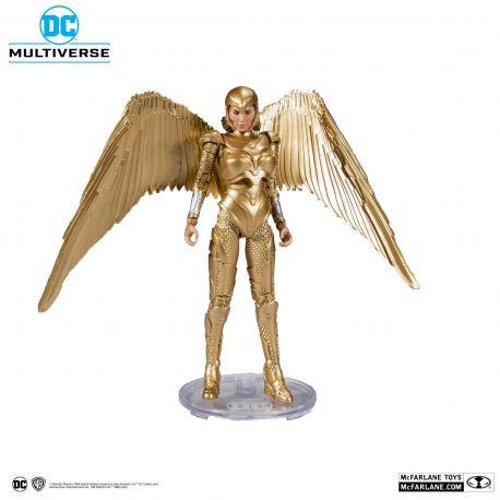 DC Multiverse figurine Wonder Woman 1984 Golden Armor McFarlane Toys