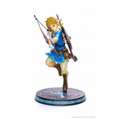 The Legend of Zelda Breath of the Wild statuette Link First 4 Figures