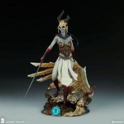 Court of the Dead Statuette Kier: Valkyrie's Revenge Sideshow