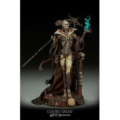 Court of the Dead Statuette Xiall: Osteomancer's Vision Sideshow