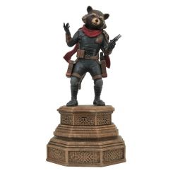 Avengers Endgame Marvel Movie Gallery statuette Rocket Raccoon Diamond Select