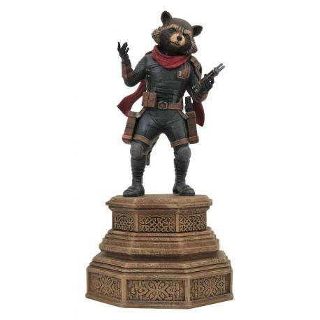 Avengers Endgame Marvel Movie Gallery statuette Rocket Raccoon Diamond Select