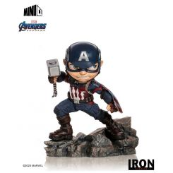 Avengers Endgame figurine Mini Co. Captain America Iron Studios