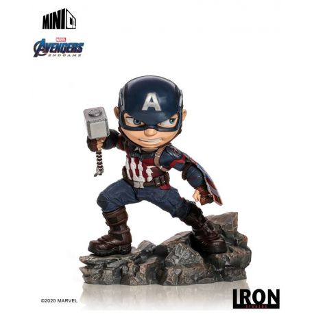 Avengers Endgame figurine Mini Co. Captain America Iron Studios