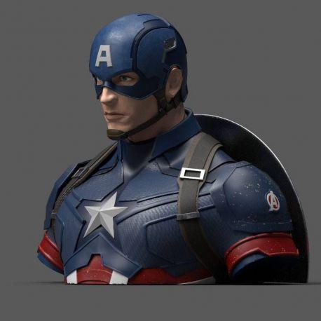 Avengers Endgame buste tirelire Captain America Semic