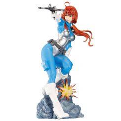 G.I. Joe Bishoujo statuette 1/7 Scarlett 25th Anniversary Blue Color Ver. Kotobukiya