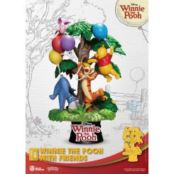 Disney diorama D-Stage Winnie The Pooh With Friends Beast Kingdom Toys