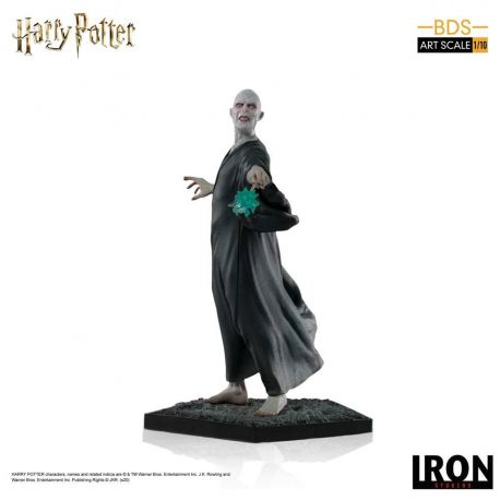 Harry Potter et la Coupe de feu statuette BDS Art Scale 1/10 Voldemort Iron Studios