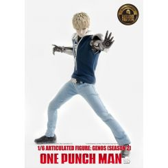 One Punch Man figurine 1/6 Genos (Season 2) Deluxe Version ThreeZero