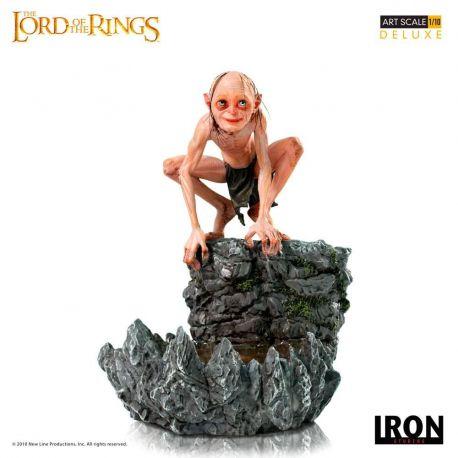 Le Seigneur des Anneaux statuette 1/10 Deluxe Art Scale Gollum Iron Studios