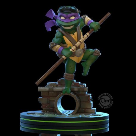 Tortues Ninja figurine Q-Fig Donatello Quantum Mechanix