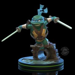 Tortues Ninja figurine Q-Fig Leonardo Quantum Mechanix