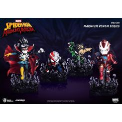 Marvel Maximum Venom Collection figurines Mini Egg Attack Bundle Set Beast Kingdom Toys