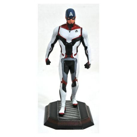 Avengers Endgame Marvel Movie Gallery statuette Team Suit Captain America Exclusive Diamond Select