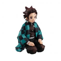 Demon Slayer Kimetsu no Yaiba statuette G.E.M. Tanjiro Kamado Palm Size Edition Megahouse