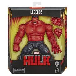 Marvel Legends Series figurine Red Hulk BAF Hasbro