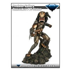 Predator Movie Gallery statuette Unmasked Predator SDCC 2020 Exclusive Diamond Select