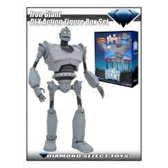 Le Géant de Fer figurine Deluxe Box Set Iron Giant SDCC 2020 Exclusive Diamond Select