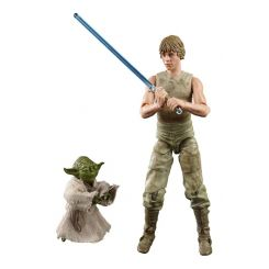 Star Wars Episode V Black Series pack 2 figurines 2020 Luke Skywalker and Yoda (Jedi Training) Hasbro