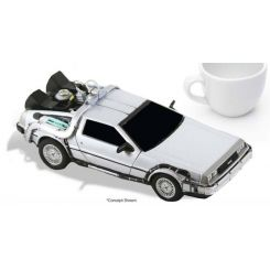 Retour vers le futur Time Machine DeLorean Neca