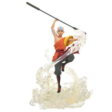 Avatar le dernier maître de l'air Gallery statuette Aang Diamond Select